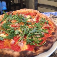 Photo taken at Olio Wood Fired Pizzeria by Leonard L. on 4/2/2012