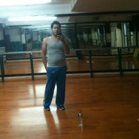 Photo taken at Hollywood Gym by Mayito on 9/7/2012