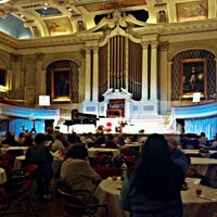 Photo taken at Mechanics Hall by Robbie C. on 3/21/2012