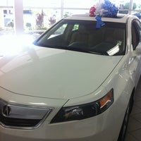 Photo taken at Delray Acura by Tonya S. on 8/8/2012