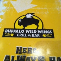 Photo taken at Buffalo Wild Wings by Brittny H. on 3/11/2012
