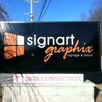 Photo taken at Sign Art Graphix by Bill L. on 2/9/2012