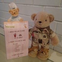 Photo taken at Teddy Bear Cafe @ Siam by Ammie C. on 7/7/2012