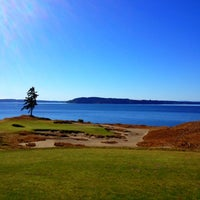 Photo taken at Chambers Bay Golf Course by Carlos A. on 9/9/2012