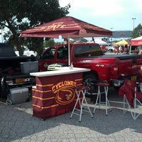 Photo taken at Tailgating Lot C4 by Kelly Minear M. on 9/1/2012