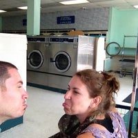 Photo taken at Del Mar Coin Laundry by Douglas B. on 8/2/2012