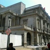 Photo taken at Teatro Municipal de Lima by Jaime Humberto P. on 7/21/2012