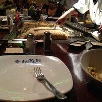 Photo taken at Miyabi Japanese Steak House by Sarah A F. on 12/24/2011
