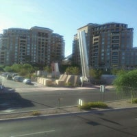 Photo taken at Soleri Bridge & Plaza by Rosario S. on 10/13/2011