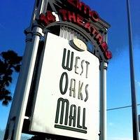 Photo taken at West Oaks Mall by Daniel M. on 12/24/2011