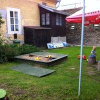Photo taken at Restaurace Na Valech by Roman F. on 8/17/2011
