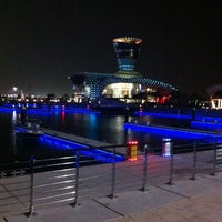Photo taken at Yas Marina & Yacht Club by Peters P. on 10/5/2011