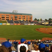 Photo taken at Durham Bulls Athletic Park by Emilie on 6/24/2012