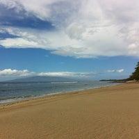 Photo taken at Ukumehame Beach by Edgar P. on 2/21/2012