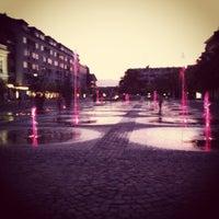 Photo taken at Kossuth tér by Peter V. on 8/18/2012