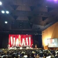 Photo taken at Auditório Yemanjá by Thiago O. on 9/1/2012