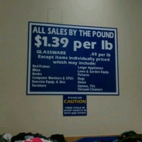 Photo taken at Goodwill Outlet by Jason U. on 1/11/2012