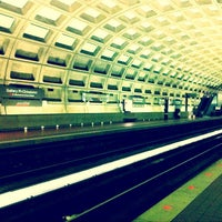 Photo taken at Gallery Place - Chinatown Metro Station by John Zongmin Z. on 6/24/2012