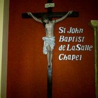 Photo taken at St. John Baptist De La Salle Chapel by Gracia Y. on 12/11/2011