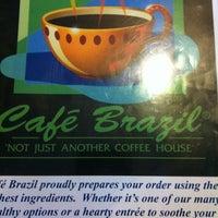 Photo taken at Cafe Brazil by Jesse W. on 7/30/2011