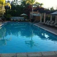 Photo taken at Villagio Inn & Spa by Dina J. on 6/28/2012