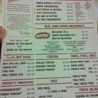 Photo taken at Jake's Wayback Burgers by Stephen M. on 12/30/2011