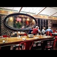 Photo taken at Café Ba-Ba-Reeba! by Brandon T. on 4/21/2012