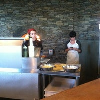 Photo taken at 2Wives Brick Oven Pizza by Krissa R. on 10/25/2011