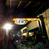 Photo taken at A&W by I GD MAHENDRA E. on 1/5/2012