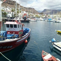 Photo taken at Puerto de Mogán by Daniel P. on 5/1/2012