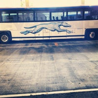 Photo taken at Greyhound Bus Lines by Phil Thomas D. on 3/8/2012