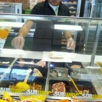 Photo taken at Subway by Ashleyacbaby C. on 1/24/2012