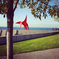 Photo taken at Olympic Sculpture Park by Christian M. on 10/17/2011
