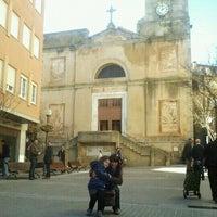 Photo taken at Esglesia de Sant Hilari Sacalm by Sandra D. on 12/4/2011