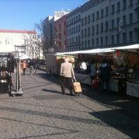 Photo taken at Hermannplatz by macro on 3/23/2012