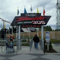Photo taken at Intimidator 305 - Kings Dominion by Thomas E. on 9/17/2011