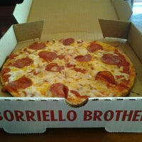 Photo taken at Boriello Brothers Pizza by Zachary B. C. on 1/27/2012