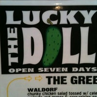 Photo taken at The Lucky Dill by Stephanie on 10/28/2011
