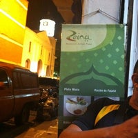 Photo taken at Restaurante Pizza Zeina by Raul G. on 6/19/2012