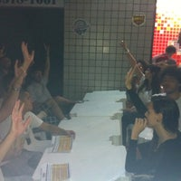 Photo taken at One Burger by Aline B. on 12/11/2011