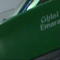 Photo taken at Emarat Gas Station محطة إمارات للوقود by Waleed H. A. on 12/4/2011