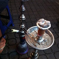 Photo taken at Hookah Street @Tambak Johor by Muzzamel M. on 1/13/2011