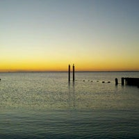 Photo taken at Buckroe Beach by Jennifer M. on 1/2/2012