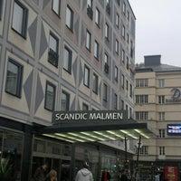 Photo taken at Scandic Malmen by Jose K. on 11/2/2011