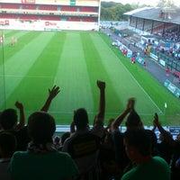 Photo taken at Bosuilstadion by Vintsent B. on 8/23/2012