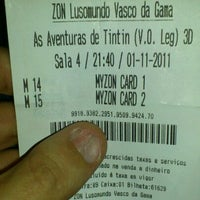 Photo taken at Cinemas NOS Vasco da Gama by Nuno M. on 11/1/2011