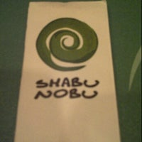 Photo taken at Shabu Nobu by Deny L. on 3/19/2012
