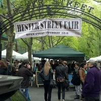 Photo taken at Hester Street Fair by James C. on 4/28/2012