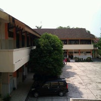 Photo taken at SMP Pertiwi Medan by Fachrul A. on 7/23/2012