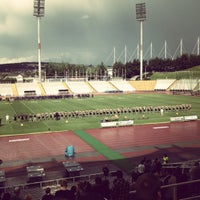 Photo taken at Don Valley Stadium by James D. on 8/25/2012